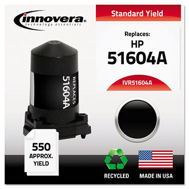 Innovera® Remanufactured 51604A Ink, Black