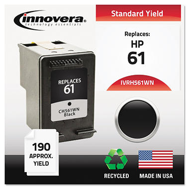 Innovera® Remanufactured CH561WN (61) Ink, Black