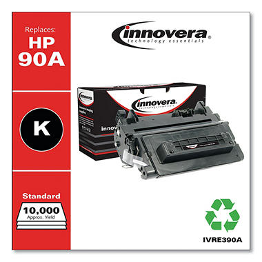 Innovera® Remanufactured CE390A (90A) Toner, Black