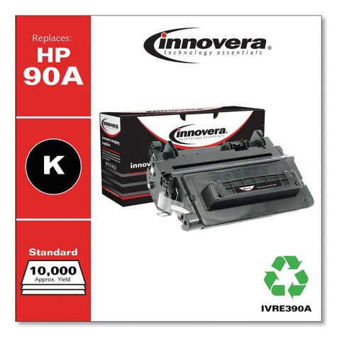 Innovera® Remanufactured CE390A (90A) Toner, Black
