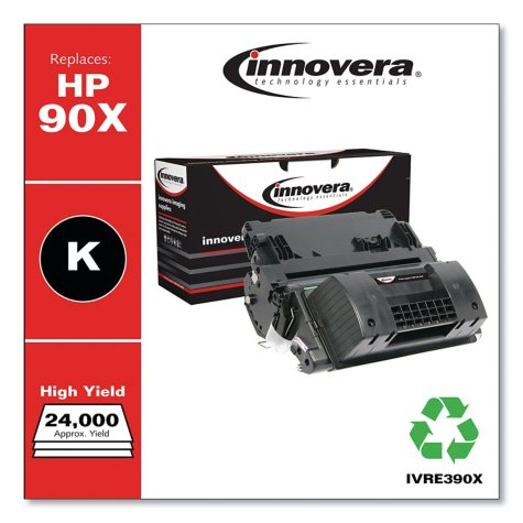 Innovera® Remanufactured CE390X (90X) High-Yield Toner, Black