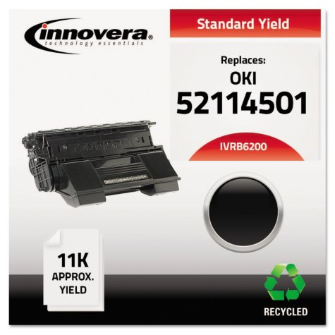 Innovera® Remanufactured 52114501 (B6200) Toner, Black