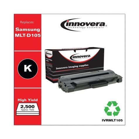 Innovera® Remanufactured MLT-D105L High-Yield Toner, Black