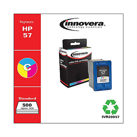 Innovera® Remanufactured C6657AN (57) Ink, Tri-Color