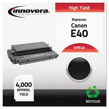 Innovera® Remanufactured 1491A002AA (E40) High-Yield Toner, Black