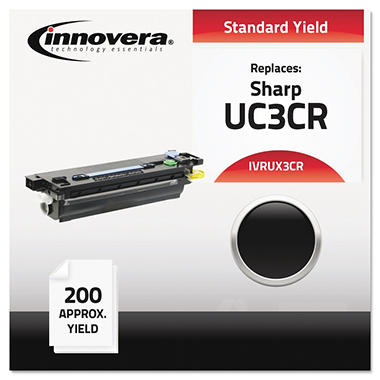 Innovera® Compatible UX3CR Thermal Transfer Print Cartridge, Black