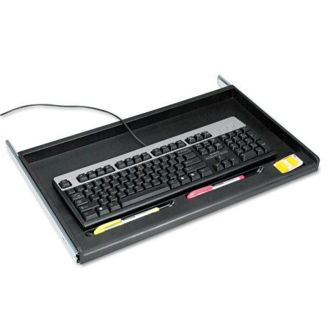 Innovera Standard Underdesk Keyboard Drawer - Black