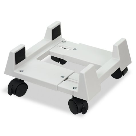 Innovera Mobile CPU Stand, Light Gray