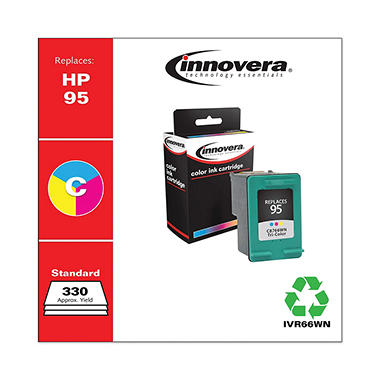 Innovera® Remanufactured C8766WN (95) Ink, Tri-Color
