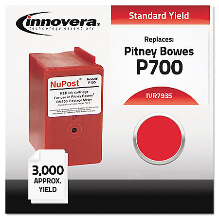 Innovera® Compatible 793-5 Postage Meter Ink, Red