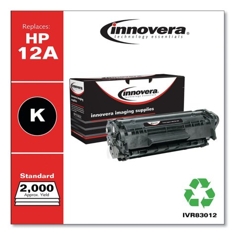 Innovera® Remanufactured Q2612A (12A) Toner, Black