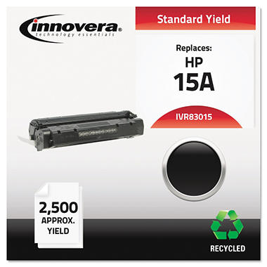 Innovera® Remanufactured C7115X (15X) High-Yield Toner, Black