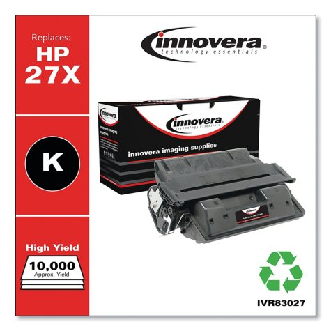 Innovera® Remanufactured C4127X (27X) High-Yield Toner, Black