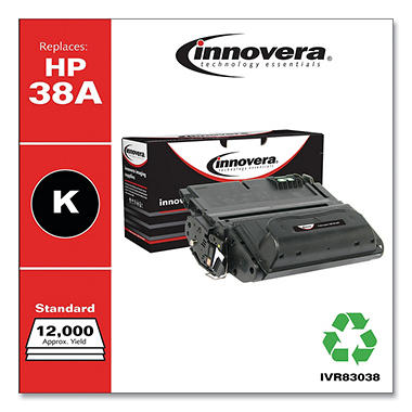 Innovera® Remanufactured Q1338A (38A) Toner, Black