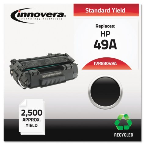 Innovera® Remanufactured Q5949X (49X) High-Yield Toner, Black