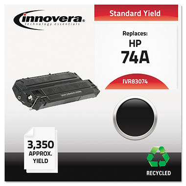Innovera® Remanufactured 92274A (74A) Toner, Black