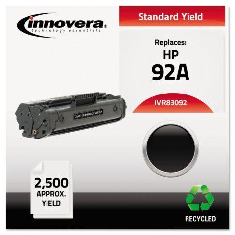 Innovera® Remanufactured C4092A (92A) Toner, Black