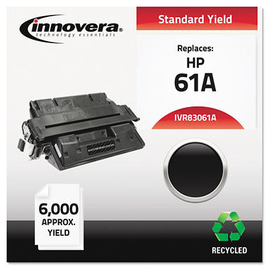 Innovera® Remanufactured C8061X (61X) High-Yield Toner, Black