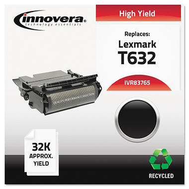 Innovera® Remanufactured 12A7465 (T632) Toner, Black