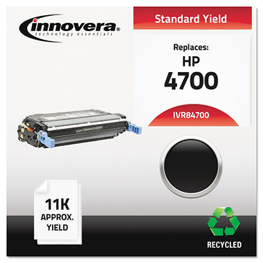 Innovera® Remanufactured Q5950A (643A) Toner, Black