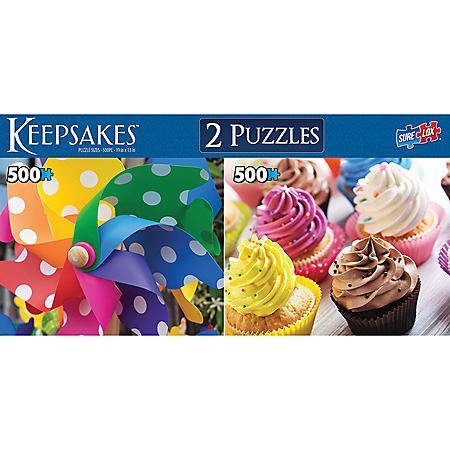 Deluxe Puzzle Collection - Keepsakes 2 pack