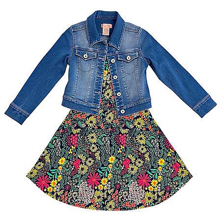 SQZ Girls 2-Piece Dress Set