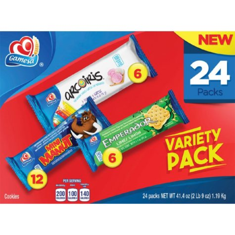 Gamesa Variety Pack (41.1 oz., 24 ct.)