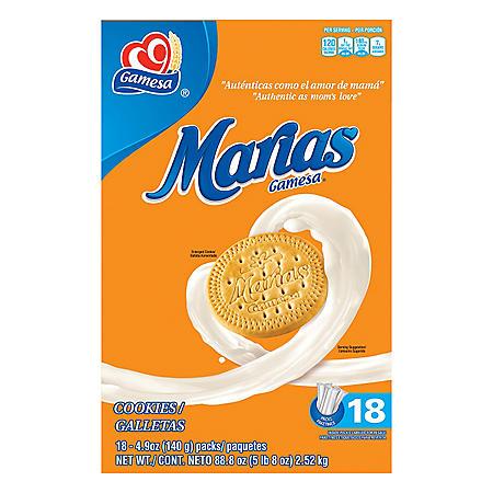 Gamesa Marias Cookies (18 packs)