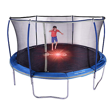 TRAMPOLINE W/LIGHTS 15 FT