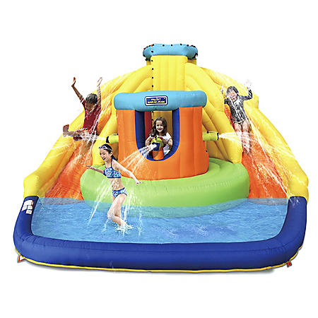 Castle Bounce with Double Water Slide - Sam's Club