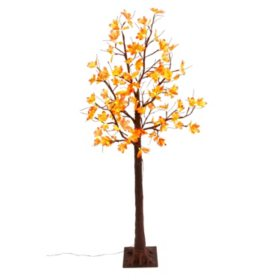 Electric Maple Leaf LED Lighted Tree