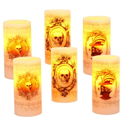 Halloween Candles, Set of 6