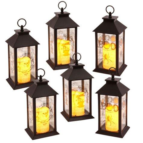 Spooky Lanterns, Set of 6