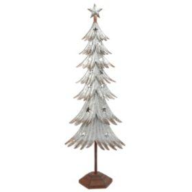 Galvanized Metal Tree