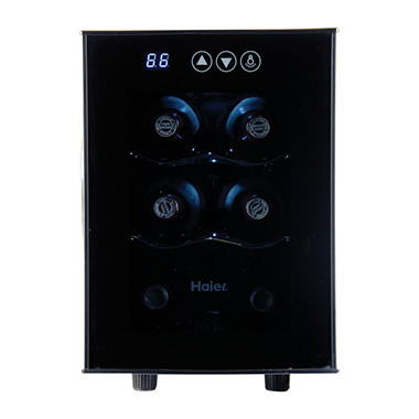 Haier 6-Bottle Wine Cellar with Digital Displays