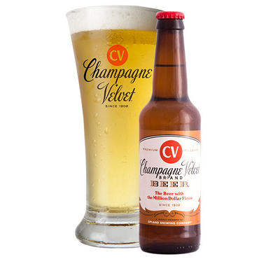 Upland Brewing Champagne Velvet Pilsner (12 fl. oz bottle, 6 pk.)