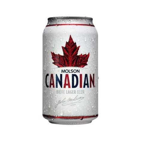 Molson Canadian Lager Beer (12 fl. oz. can, 18 pk.)