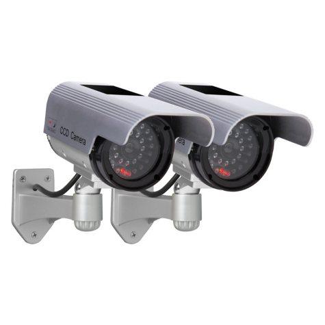 Solar Decoy Camera Twin Pack