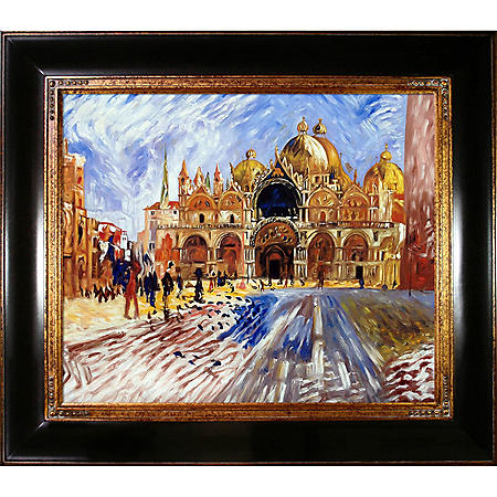 Pierre-Auguste Renoir The Piazza San Marco Venice Hand Painted Oil Reproduction
