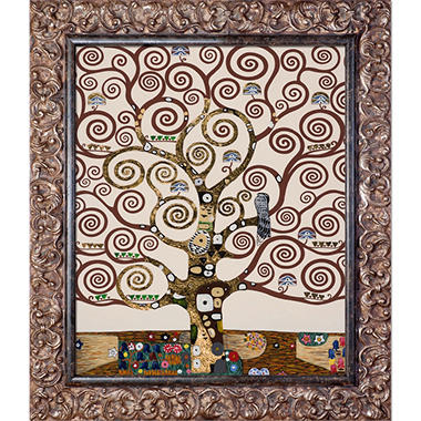 Gustav Klimt The Tree of Life Hand Painted Oil Reproduction