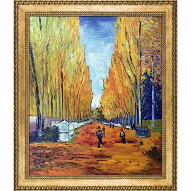 Vincent Van Gogh The Allee of Alyscamps Hand Painted Oil Reproduction