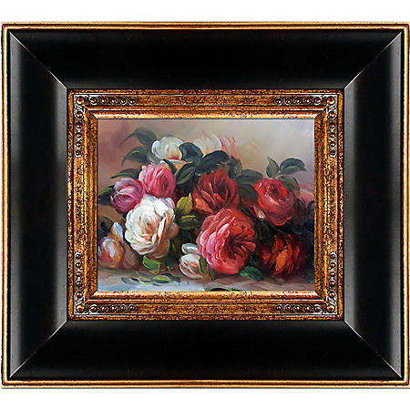 Pierre-Auguste Renoir Discarded Roses Hand Painted Oil Reproduction