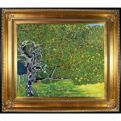 Gustav Klimt The Golden Apple Tree Hand Painted Oil Reproduction
