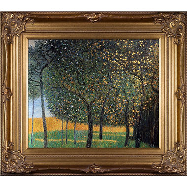 Gustav Klimt Fruit Trees Hand Painted Oil Reproduction