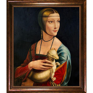 Hand-painted Oil Reproduction of Leonardo Da Vinci Mona Lisa