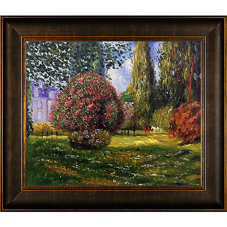 Hand-painted Oil Reproduction of Claude Monet's Il Parco Monceau, 1876.