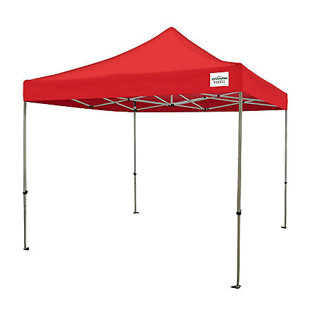 Caravan® Canopy 10x10 Classic Deluxe Kit Red Instant Canopy