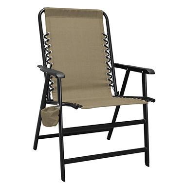 XL Suspension Folding Chair, Multiple Color Choices