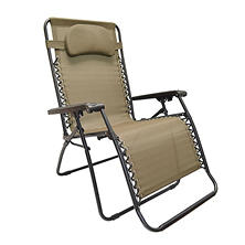 Caravan® Sports Oversized Zero Gravity Chair - Beige