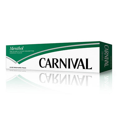 Carnival Green Menthol King Box 1 Carton